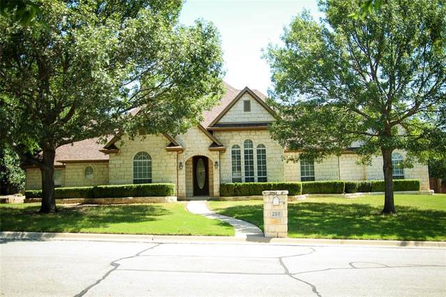 210 Evergreen Trail, Weatherford, TX 76087 (MLS #14371447) :: The Mitchell Group