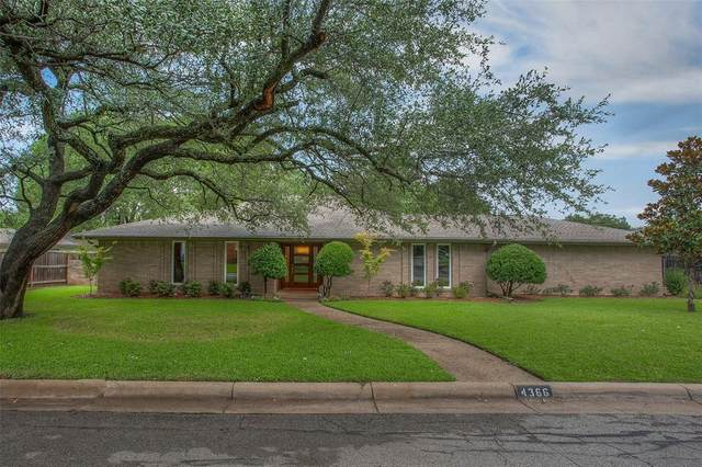 4366 Lanark Avenue, Fort Worth, TX 76109 (MLS #14371496) :: The Mitchell Group