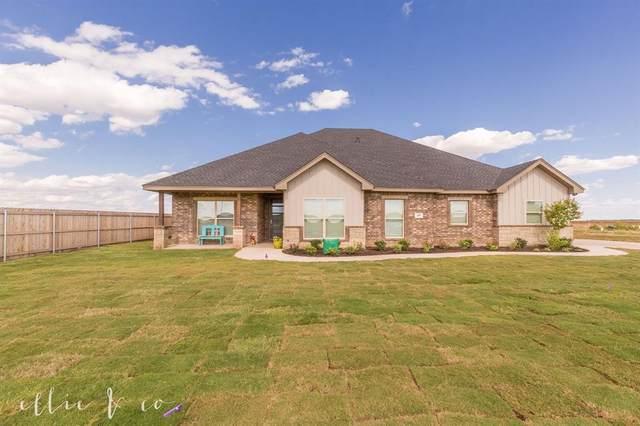 409 Rafter Drive, Tuscola, TX 79562 (MLS #14371501) :: The Daniel Team