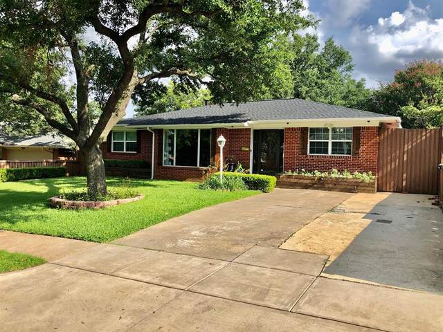 8819 Larchwood Drive, Dallas, TX 75238 (MLS #14372462) :: Baldree Home Team