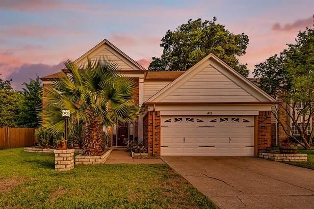 413 Spencer Circle, Grand Prairie, TX 75052 (MLS #14372624) :: Team Hodnett