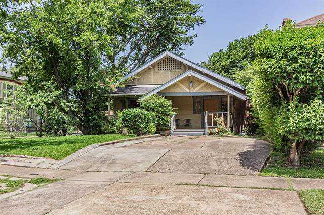 4803 Reiger Avenue, Dallas, TX 75246 (MLS #14372670) :: Justin Bassett Realty