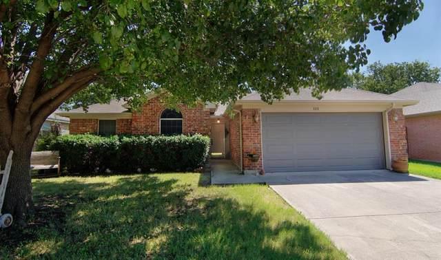 808 Wrentham Drive, Saginaw, TX 76179 (MLS #14372887) :: Tenesha Lusk Realty Group