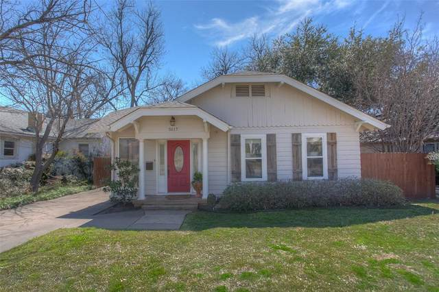 5117 Byers Avenue, Fort Worth, TX 76107 (MLS #14372964) :: Trinity Premier Properties