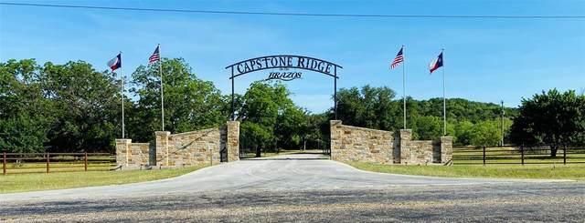 TBD C2 Capstone Ridge Drive, Santo, TX 76472 (MLS #14373430) :: Team Hodnett