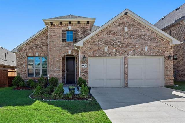 14716 Cedar Flat Way, Fort Worth, TX 76262 (MLS #14373509) :: The Mitchell Group