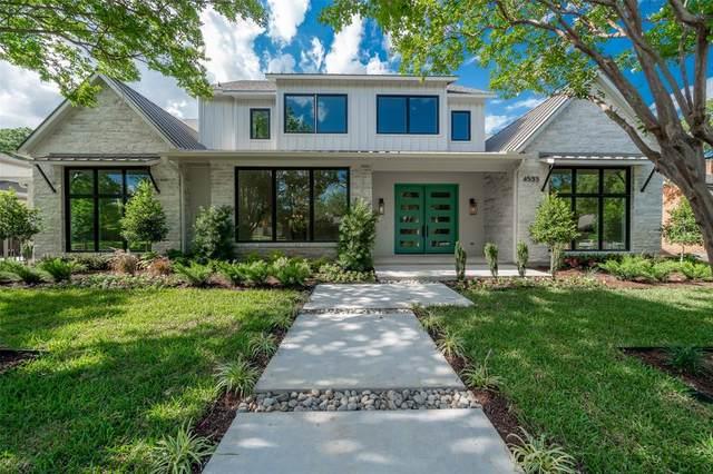 4533 Alta Vista Lane, Dallas, TX 75229 (MLS #14373560) :: Real Estate By Design