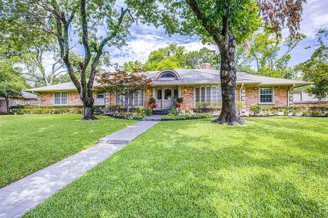 7231 Cliffbrook Drive, Dallas, TX 75254 (MLS #14373596) :: Hargrove Realty Group