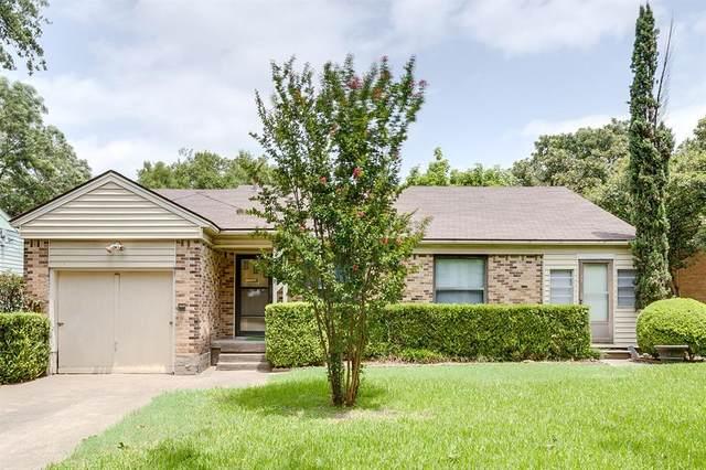 6123 Belgrade Avenue, Dallas, TX 75227 (MLS #14373720) :: RE/MAX Landmark