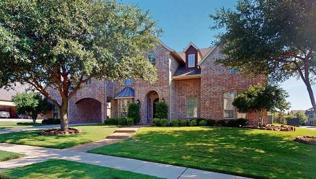 2481 Spring Crest Drive, Prosper, TX 75078 (MLS #14373890) :: The Kimberly Davis Group