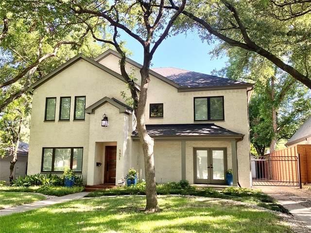 5431 Emerson Avenue, Dallas, TX 75209 (MLS #14374275) :: All Cities USA Realty