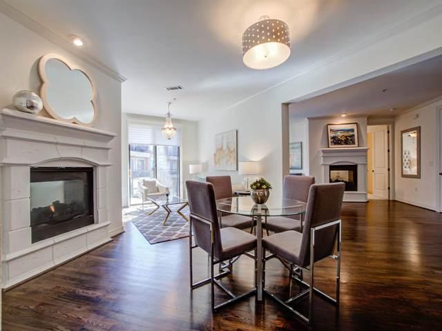 8616 Turtle Creek Boulevard #414, Dallas, TX 75225 (MLS #14374358) :: Results Property Group