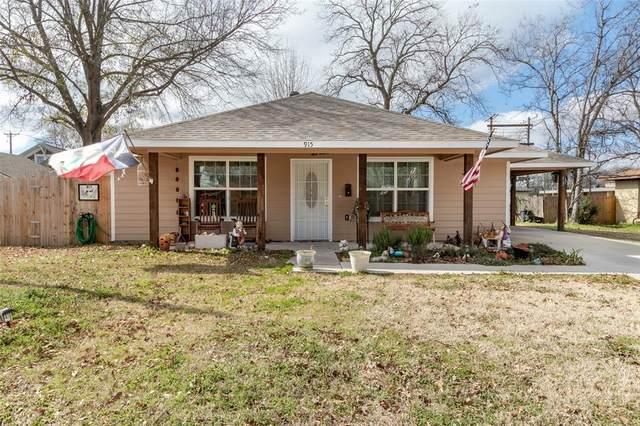 915 Chestnut Street, Bonham, TX 75418 (MLS #14374851) :: Baldree Home Team