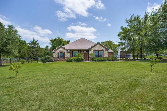 335 County Road 1451, Bonham, TX 75418 (MLS #14374869) :: Baldree Home Team