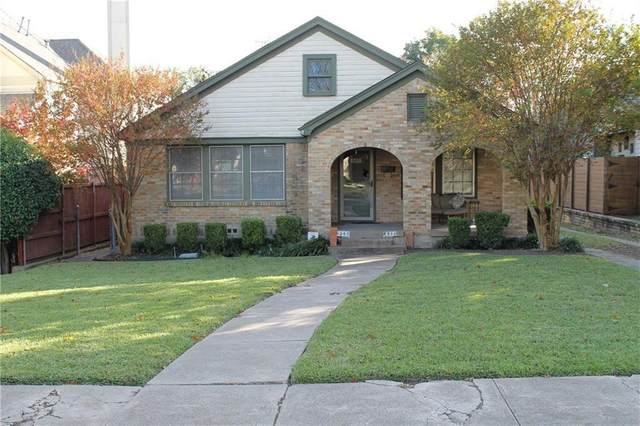 6360 Vanderbilt Avenue, Dallas, TX 75214 (MLS #14374908) :: All Cities USA Realty