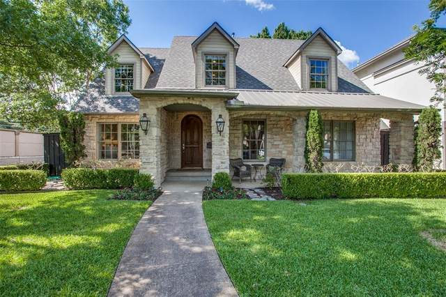 4432 Greenbrier Drive, Dallas, TX 75225 (MLS #14374990) :: Robbins Real Estate Group