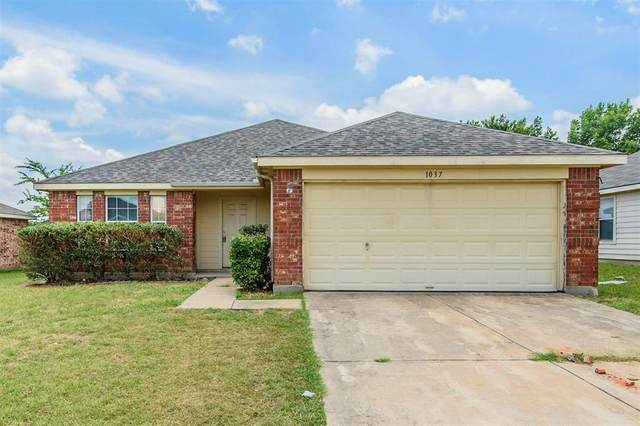 1037 Stockton Drive, Burleson, TX 76028 (MLS #14375003) :: Baldree Home Team