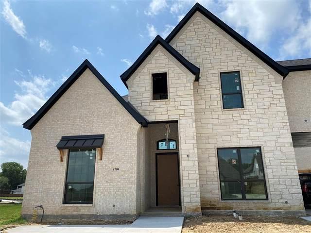 8704 Montrose Drive, North Richland Hills, TX 76182 (MLS #14375252) :: Baldree Home Team