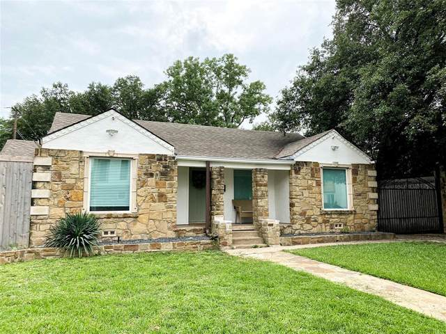 2827 Wingate Street, Fort Worth, TX 76107 (MLS #14375317) :: Justin Bassett Realty