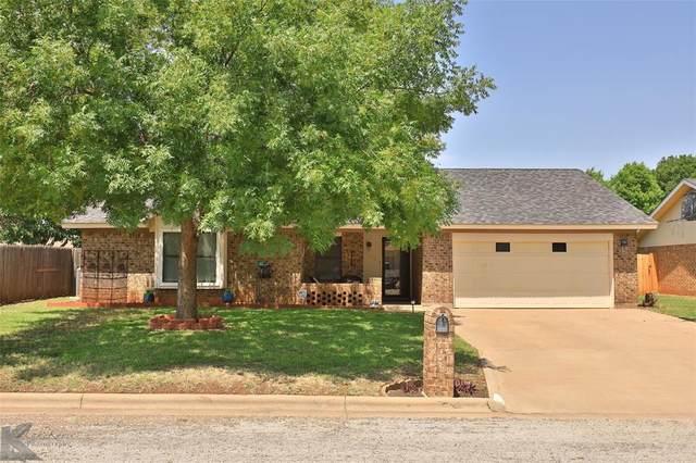 5250 Shady Glen Lane, Abilene, TX 79606 (MLS #14375483) :: ACR- ANN CARR REALTORS®