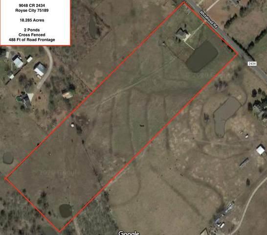 9048 County Road 2434, Royse City, TX 75189 (MLS #14375585) :: The Kimberly Davis Group