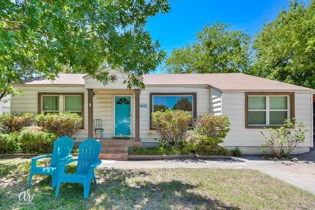 1822 Jackson Street, Abilene, TX 79602 (MLS #14375595) :: The Heyl Group at Keller Williams