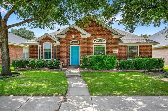 6513 Redwood Lane, The Colony, TX 75056 (MLS #14375987) :: The Kimberly Davis Group