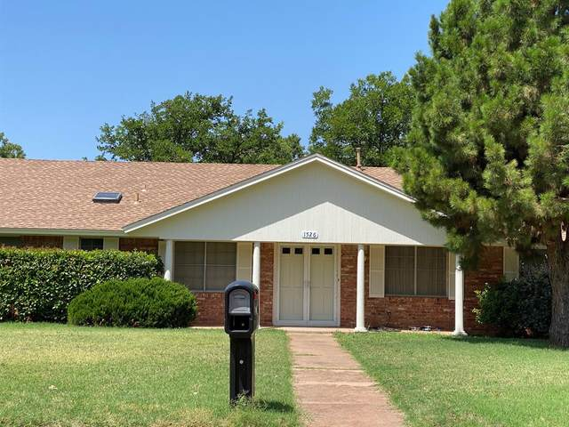 1526 Wishbone Drive, Abilene, TX 79603 (MLS #14376070) :: The Daniel Team