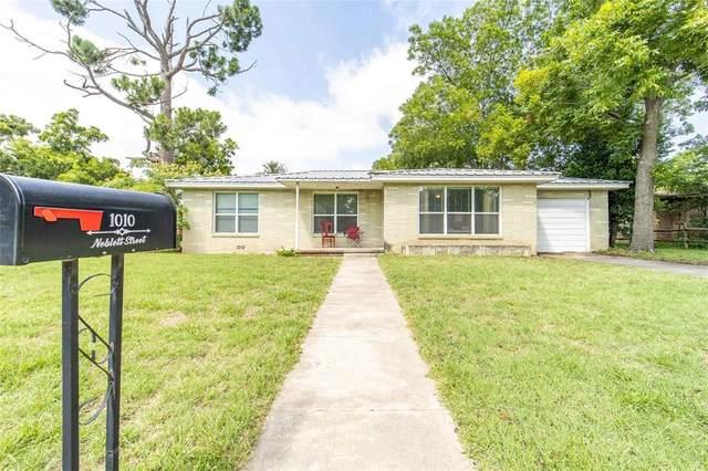1010 N Neblett Street, Stephenville, TX 76401 (MLS #14376369) :: The Heyl Group at Keller Williams