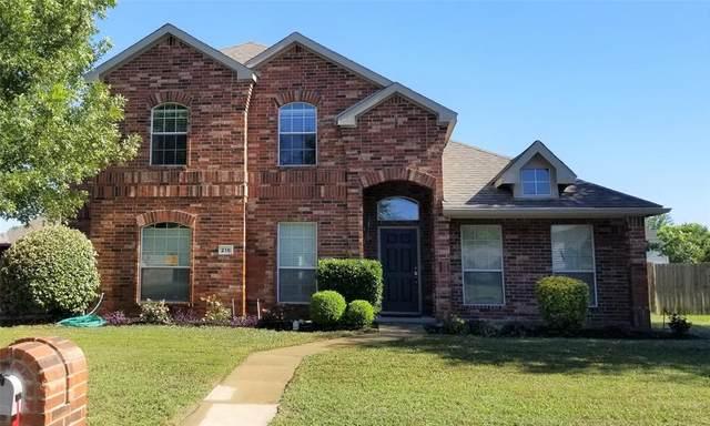 216 Joseph Drive, Glenn Heights, TX 75154 (MLS #14376618) :: Century 21 Judge Fite Company