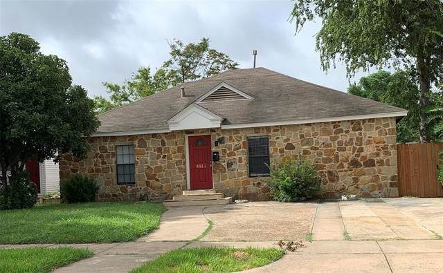 4814 March Avenue, Dallas, TX 75209 (MLS #14376630) :: All Cities USA Realty