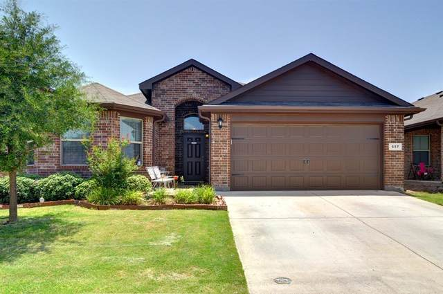 657 Cameron Way, Azle, TX 76020 (MLS #14376759) :: The Mitchell Group