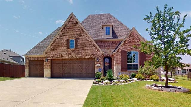 9033 Violet Drive, Lantana, TX 76226 (MLS #14377033) :: The Kimberly Davis Group