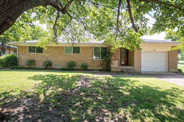 207 Shaffner Street, Ponder, TX 76259 (MLS #14377054) :: North Texas Team | RE/MAX Lifestyle Property