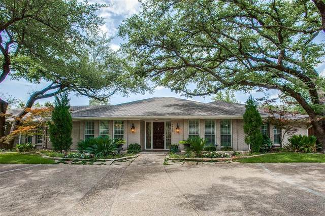 6931 Midcrest Drive, Dallas, TX 75254 (MLS #14377228) :: Trinity Premier Properties