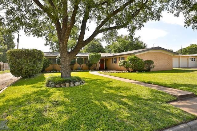 2109 Ivanhoe Lane, Abilene, TX 79605 (MLS #14377287) :: Baldree Home Team