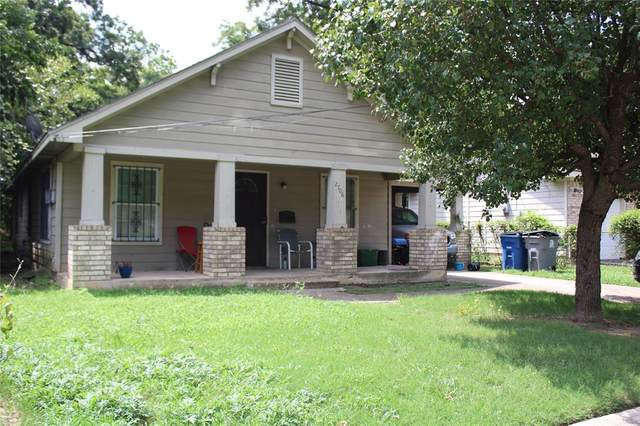 2706 Carpenter Avenue, Dallas, TX 75215 (MLS #14377360) :: Century 21 Judge Fite Company