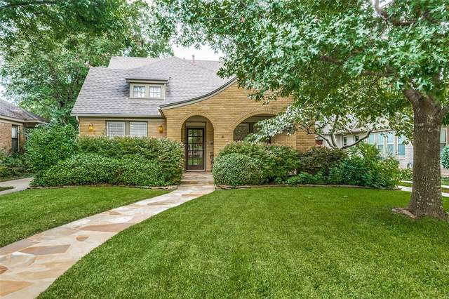 1051 N Windomere Avenue, Dallas, TX 75208 (MLS #14377777) :: The Kimberly Davis Group
