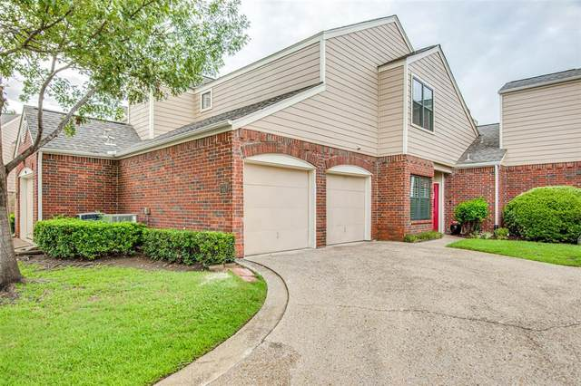 219 Cimarron Trail #2, Irving, TX 75063 (MLS #14377991) :: The Hornburg Real Estate Group