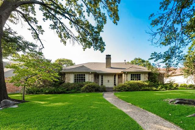 7705 Tanglecrest Drive, Dallas, TX 75254 (MLS #14378115) :: Hargrove Realty Group