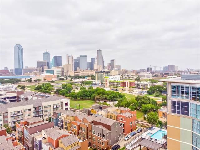 1001 Belleview Street #804, Dallas, TX 75215 (MLS #14378299) :: The Good Home Team