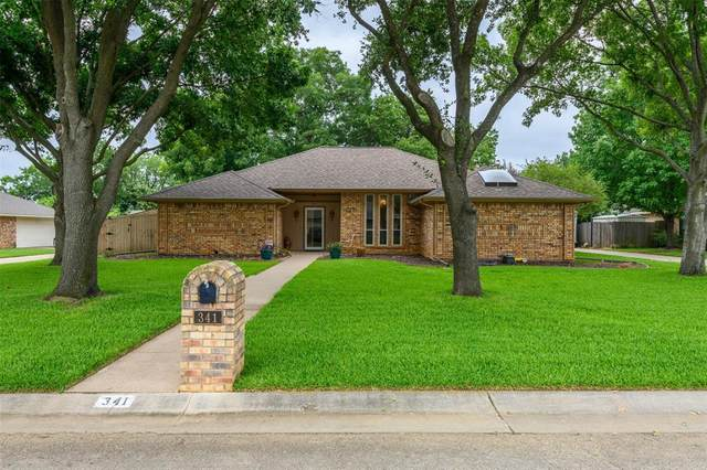 341 Village Tree Drive, Highland Village, TX 75077 (MLS #14378523) :: Baldree Home Team
