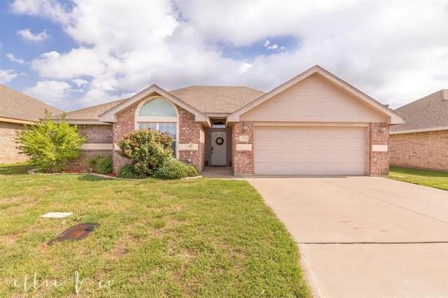 250 Lollipop Trail, Abilene, TX 79602 (MLS #14378682) :: ACR- ANN CARR REALTORS®