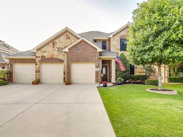 15457 Landing Creek Lane, Fort Worth, TX 76262 (MLS #14378769) :: NewHomePrograms.com LLC
