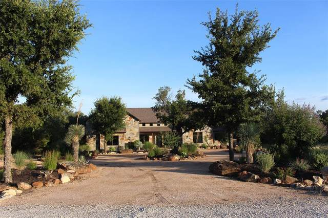1195 Keechi Trail, Possum Kingdom Lake, TX 76449 (MLS #14378774) :: The Chad Smith Team