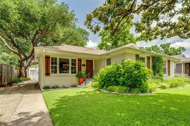 4031 Glenridge Road, Dallas, TX 75220 (MLS #14378845) :: All Cities USA Realty