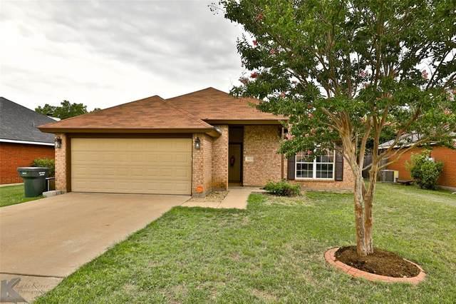 3825 Notre Dame Circle, Abilene, TX 79602 (MLS #14378884) :: Real Estate By Design