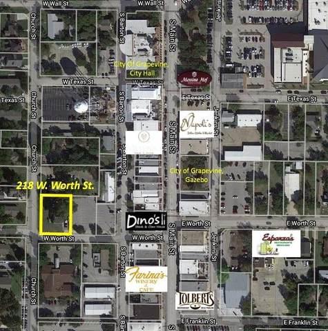 218 Worth Street, Grapevine, TX 76051 (MLS #14378969) :: Team Tiller