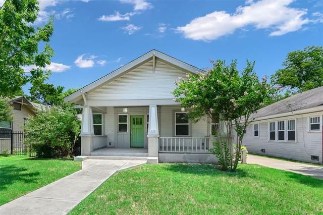 618 N Clinton Avenue, Dallas, TX 75208 (MLS #14379170) :: The Mauelshagen Group