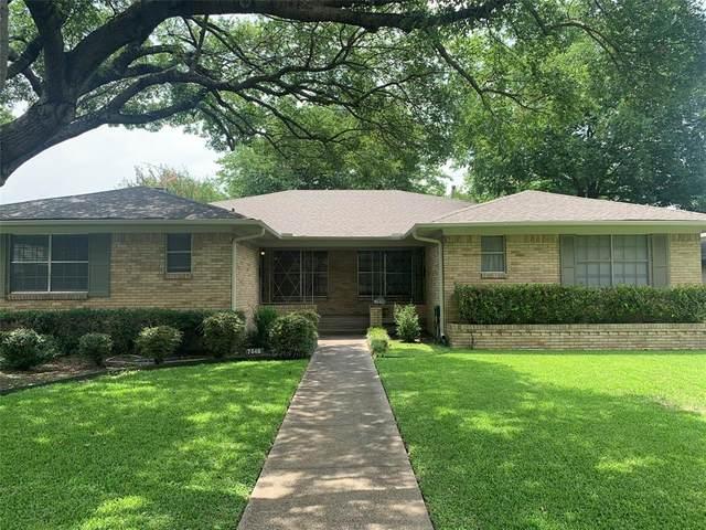 7446 Walling Lane, Dallas, TX 75231 (MLS #14379171) :: The Chad Smith Team